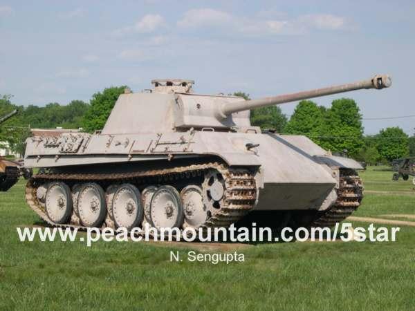 panzer V panther tank replica. - YouTube
