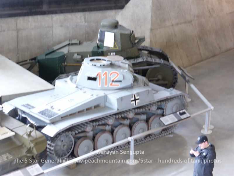 German Panzer II tank - Canadian War Museum
