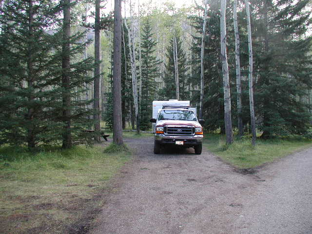 Campgrounds Of Banff National Park By Renee Galligher