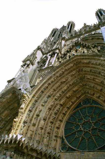 Reims Cathedral Ww1 Reims Cathedral Notre Dame de