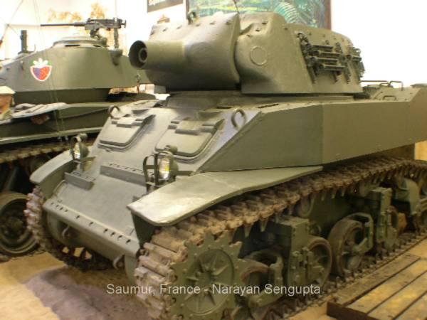Musee Des Blindes Saumur American Wwii Tanks